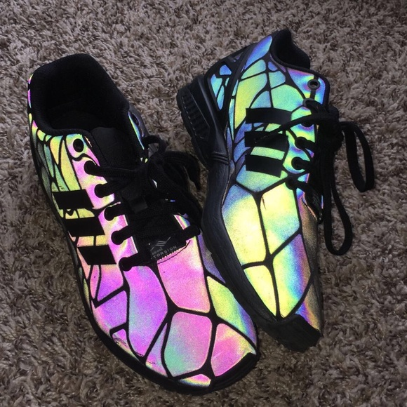 the latest 9afbe 61b03 adidas Other - Adidas ZX Flux Xeno Reflective Shoes